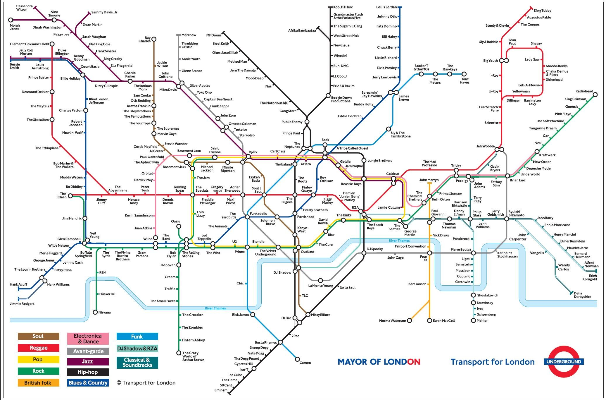 Printable London Subway Map.Geofftech Tube Silly Tube Maps